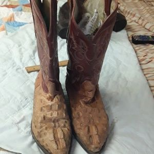 Rodeo Shoes - men's Rodeo brand crocodile boots
